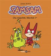 SamSam (2e Série) -5- Cha majechté, Marchel 1er