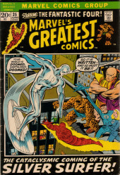 Marvel's Greatest Comics (Marvel - 1969) -35- The Cataclysmic Coming of the Silver Surfer!