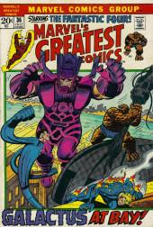 Marvel's Greatest Comics (Marvel - 1969) -36- Galactus at Bay!
