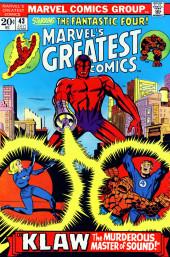 Marvel's Greatest Comics (Marvel - 1969) -43- Klaw, the Murderous Master of Sound!