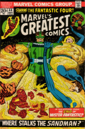 Marvel's Greatest Comics (Marvel - 1969) -44- Where Stalks the Sandman?