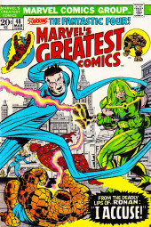 Marvel's Greatest Comics (Marvel - 1969) -48- From the deadly lips of.. Ronan: