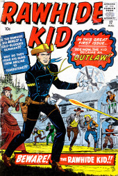 Rawhide Kid Vol.1 (Atlas/Marvel - 1955) -17- Beware! The Rawhide Kid!!