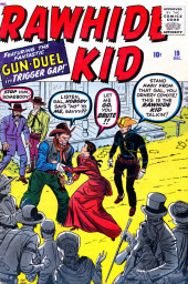 Rawhide Kid Vol.1 (Atlas/Marvel - 1955) -19- Gun Duel in Trigger Gap!