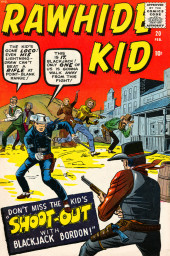 Rawhide Kid Vol.1 (Atlas/Marvel - 1955) -20- Shoot-Out with Blackjack Bordon!