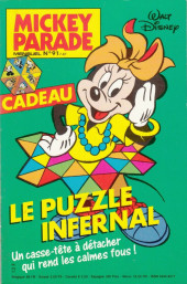 Mickey Parade -91- Le puzzle infernal