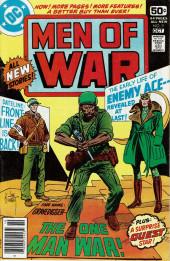 Men of war Vol.1 (DC comics - 1977) -9- The One Man War!