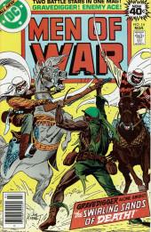 Men of war Vol.1 (DC comics - 1977) -14- The Swirling Sands of Death!
