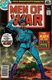 Men of war Vol.1 (DC comics - 1977) -16- The Mark of the Gravedigger