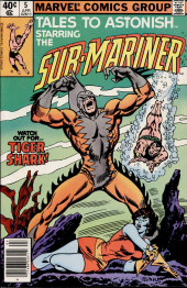 Tales to astonish Vol. 2 (Marvel - 1979) -5- Watch Out for... Tiger Shark!