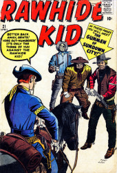 Rawhide Kid Vol.1 (Atlas/Marvel - 1955) -21- The Gunmen of Sundown City!