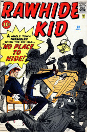 Rawhide Kid Vol.1 (Atlas/Marvel - 1955) -23- No Place to Hide!