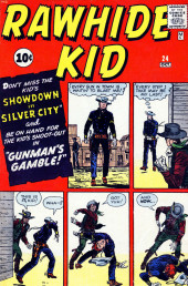 Rawhide Kid Vol.1 (Atlas/Marvel - 1955) -24- Gunman's Gamble!