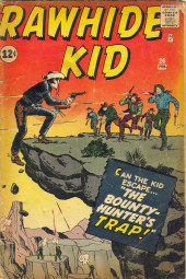 Rawhide Kid Vol.1 (Atlas/Marvel - 1955) -26- The Bounty-Hunter's Trap!