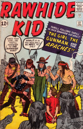Rawhide Kid Vol.1 (Atlas/Marvel - 1955) -27- The Girl, the Gunman, and the Apaches!!