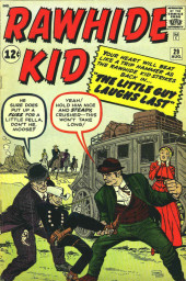 Rawhide Kid Vol.1 (Atlas/Marvel - 1955) -29- The Little Guy Laughs Last