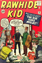 Rawhide Kid Vol.1 (Atlas/Marvel - 1955) -30- The Kid Goes Wild!!