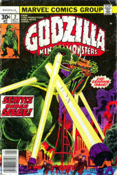 Godzilla King of Monsters (Marvel - 1977) -2- Seattle Under Siege!