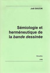 (DOC) Études et essais divers - Sémiologie et herméneutique de la bande dessinée