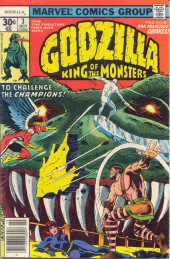 Godzilla King of Monsters (Marvel - 1977) -3- To Challenge the Champions!