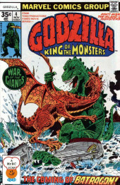 Godzilla King of Monsters (Marvel - 1977) -4- The Coming of Batragon!