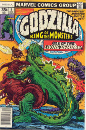 Godzilla King of Monsters (Marvel - 1977) -5- Isle of the Living Demons!