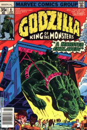 Godzilla King of Monsters (Marvel - 1977) -6- A Monster Enslaved!