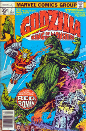 Godzilla King of Monsters (Marvel - 1977) -7- Red Ronin!