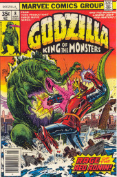 Godzilla King of Monsters (Marvel - 1977) -8- Rage of the Red Ronin!
