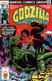 Godzilla King of Monsters (Marvel - 1977) -10- Here Comes Yetrigar! The Biggest Big Foot of them All!