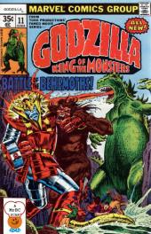 Godzilla King of Monsters (Marvel - 1977) -11- Battle of the Behemoths!