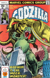 Godzilla King of Monsters (Marvel - 1977) -13- Mayhem is the Mega-Monster!