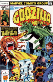 Godzilla King of Monsters (Marvel - 1977) -14- The Siege of the Super-Beasts!