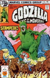 Godzilla King of Monsters (Marvel - 1977) -15- Stampede!
