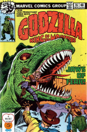 Godzilla King of Monsters (Marvel - 1977) -16- Jaws of Fear
