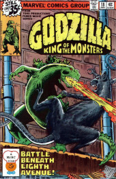 Godzilla King of Monsters (Marvel - 1977) -18- Battle Beneath Eighth Avenue!