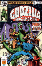 Godzilla King of Monsters (Marvel - 1977) -19- Panic on the Pier!