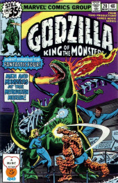 Godzilla King of Monsters (Marvel - 1977) -20- Men and Monsters at the Metropolitan Museum!
