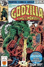 Godzilla King of Monsters (Marvel - 1977) -21- The Doom Trip!