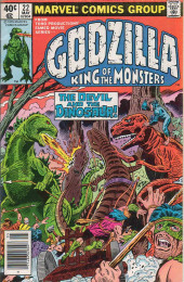 Godzilla King of Monsters (Marvel - 1977) -22- The Devil and the Dinosaur!