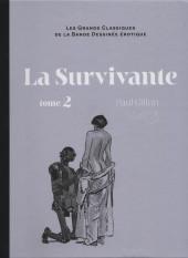Les grands Classiques de la Bande Dessinée érotique - La Collection -97105- La Survivante - tome 2