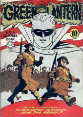 Green Lantern Vol.1 (DC Comics - 1941) -4- The Green Lantern and Doiby Dickles Join the Army!