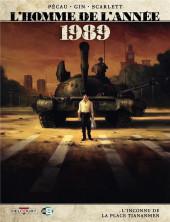 L'homme de l'année -16- 1989 - L'Inconnu de la place Tiananmen