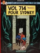 Tintin (Historique) -22C4bis- Vol 714 pour Sydney