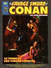 Savage Sword of Conan (The) (puis The Legend of Conan) - La Collection (Hachette) -58- Le tombeau des visions perdues