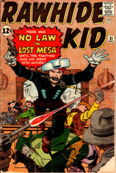 Rawhide Kid Vol.1 (Atlas/Marvel - 1955) -31- No Law in Lost Mesa