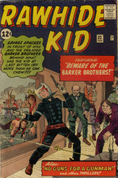 Rawhide Kid Vol.1 (Atlas/Marvel - 1955) -32- Beware of the Barker Brothers!