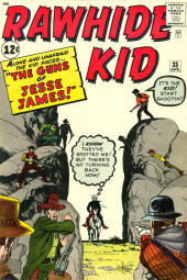 Rawhide Kid Vol.1 (Atlas/Marvel - 1955) -33- The Guns of Jesse James!
