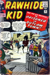 Rawhide Kid Vol.1 (Atlas/Marvel - 1955) -36- A Prisoner in Outlaw Town!