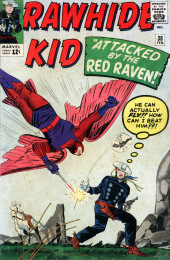 Rawhide Kid Vol.1 (Atlas/Marvel - 1955) -38- Attacked by the Red Raven!